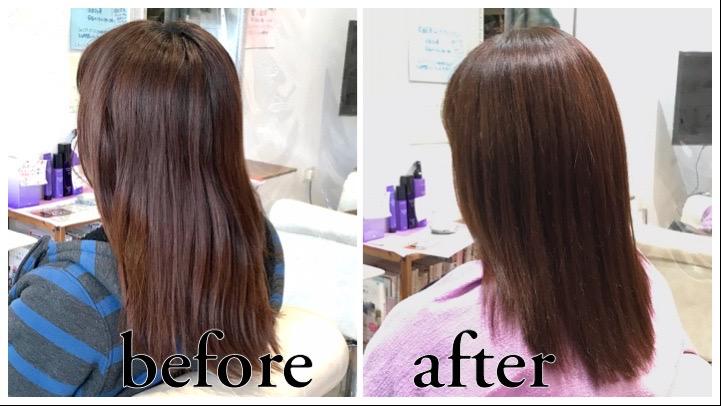 山形県天童市で人気の髪修復髪質改善カラー白髪染め